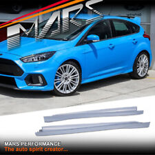 RS Style Side Skirts for Ford Focus LZ & LW Hatch 2012-2018 Plastic Bodykits
