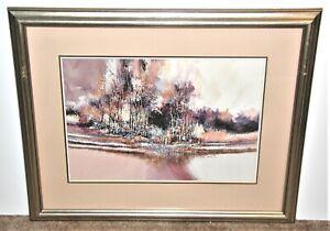 John L. Mendoza Colorado Artist Western Landscape (I)