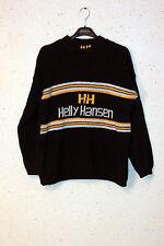 HELLY HANSEN Sweater Knit Crew-neck Retro Size M  Rare Vintage HH Old-school VTG