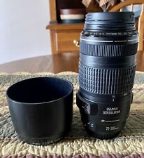 Canon 70-300mm And Lens Hood