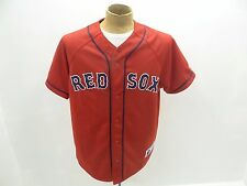 Used Russell Athletic Mens Size Large Red Sox Boston Genuine MLB Baseball Jersey
