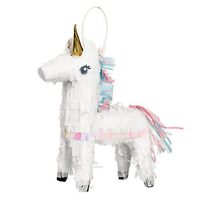 Unicorn Party Supplies - Magical Unicorn Mini Pinata Hanging/Table Decoration