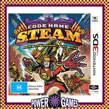 Code Name S.T.E.A.M Steam (Nintendo 3DS 2DS 3DS XL) Brand New