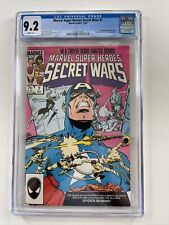 Marvel Super Heroes Secret Wars #7 CGC 9.2 White Pages