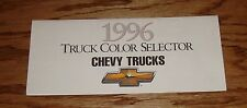 Original 1996 Chevrolet Truck Exterior Colors Brochure 96 Chevy Blazer Suburban