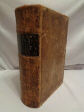 1858 RARE Watson MD Lectures Principles & Practice of Physic Medicine Leather