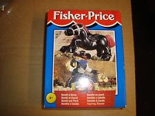 Fisher Price Great Adventures 1999 Bandit & Horse European Release NIB