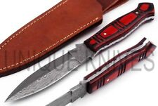 Fabulous HandMade Damascus Steel Hunting Dagger Knife