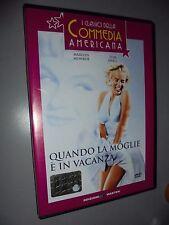 DVD QUANDO LA MOGLIE E' IN VACANZA N° 15 COMMEDIA AMERICANA MASTER MONROE EWELL