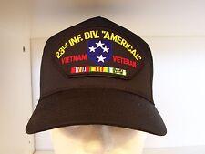 #1543 US ARMY 23RD DIVISION AMERICAL VIETNAM Ballcap Cap Hat