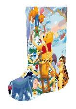 Winnie the Pooh Christmas Stocking Cross Stitch Kit.