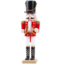 Christmas Decoration Nutcracker Style Figurines - 25cm Figure with Cymbals