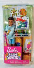 Barbie Team Stacie Friend of Stacie Doll Art Class Playset
