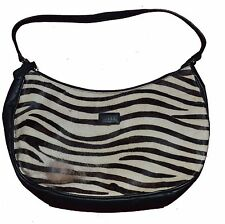 Osprey London Zebra Skin Leather Handbag Guaranteed Original