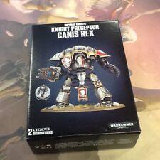 40K Warhammer Imperial Knight Preceptor Canis Rex NIB IN STOCK