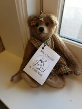 """6"""" Fully Jointed Handmade Bear By Mr. Chump & Friends """"Betti"""""""