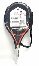 New Head Radical Junior Series Size 26 Tennis Racquet for Age 9-11 With Case