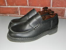 GEORGE COX by DR ADAM BLACK Mens Leather Size 10 MADE IN ENGLAD SHOES #11401