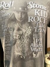 Rolling Stone Kid Rock Don Henley Gray XL T Shirt  Derek Jester Roy Jones Jr.