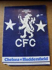 20/09/1976 Chelsea v Huddersfield Town [Football League Cup] (Folded, Corner Tor