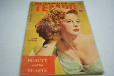 Tempo cheesecake magazine Feb 1954 Susan Hayward   072812EL