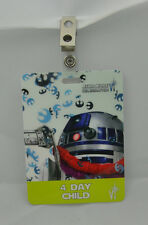 Star Wars Celebration VI 6 Pass Badge-4 Day Child R2 D2