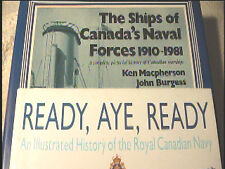 2 Vols Canadian Navy History Ships of Canada's Naval Forces RCN