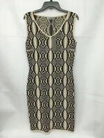 D.Exterior Ladies Black Cream Print Dress. Various Sizes. RRP £359. BNWT.
