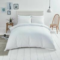 Luxury White Duvet Cover Set Quilt Bed Cover Twin Queen/King Bedding With Pillow