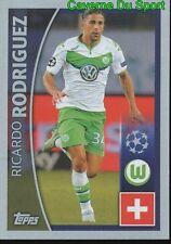 088 RICARDO RODRIGUEZ SUISSE VFL WOLFSBURG STICKER CHAMPIONS LEAGUE 2016 TOPPS