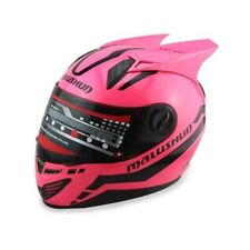 Full Face Motorcycle Street For Women and Man Helmet With Horns Riding Helmet