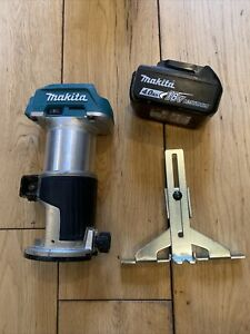 Makita DRT50 18v LXT Cordless Brushless Router Trimmer With 4ah Battery