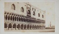 Carlo Ponti Palais Doge Venezia Italia CDV Foto Vintage Albumina c1860-5