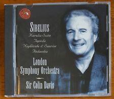 Sir Colin Davis - Sibelius: Karelia Suite; Tapiola; Nightride & Sunrise - CD