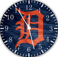 Detroit Tigers Wall Clock Nice For Gift or Home Office Wall Decor F68