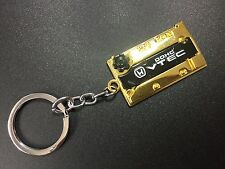 Engine Valve Cover Keychain For HONDA Keyring JDM style DOHC VTEC Gold