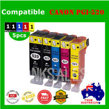 5x Ink Cartridges for PGI520 CLI521 Canon MP540 MP550 MP560 MP620 MX870 MP980