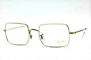 BRAND NEW RAY-BAN RB 1969V 3086 GOLD CLEAR AUTHENTIC FRAMES EYEGLASSES RX 51-19