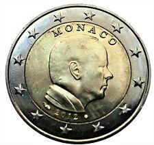 Monaco 2 euro 2012, Albert II, UNC uit rol