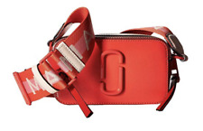 BNWT Marc Jacobs DTM Poppy Red Multi Snapshot Small Camera Crossbody Bag