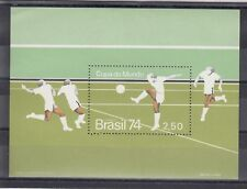 TIMBRE STAMP BLOC BRESIL Y&T#33 FOOTBALL SOCCER  NEUF**/MNH-MINT 1974 ~C44