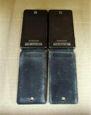 Pair of Samsung SGH-F480 Black colour (Orange Network) Mobile phones