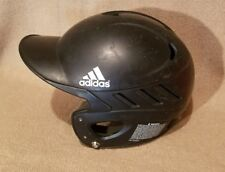 ADIDAS CLIMA COOL VENTED BATTING HELMET WITHOUT FACE GUARD BLACK
