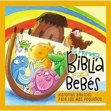La Primera Biblia Para Bebes: El Mensaje de Le Biblia-C - Board Book NEW Pederse
