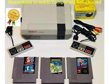 Nintendo NES REFURBISHED Console Games Original System Mario TMNT Excitebike