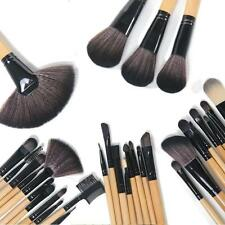 Professional 32PCS Superior Soft Cosmetic Makeup Brush Set Kit + Pouch Bag Case