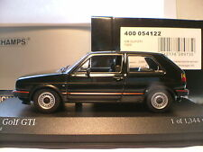 RARE MINICHAMPS 1/43 1985 VOLKSWAGEN GOLF GTI MK11 ONLY 1344 PCS WORLDWIDE NLA