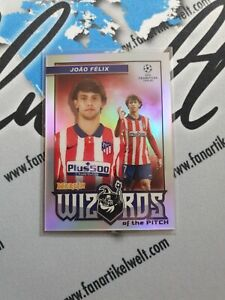 2020-21 Topps Merlin Chrome Wizards of the pitch Joao Felix ATHLETICO DE MADRID