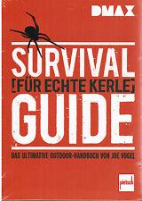 Buch Survival Guide für echte Kerle Das ultimative Outdoor-Handbuch DMAX Vogel