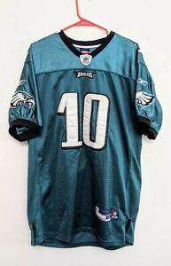 Philadelphia Eagles DeSean Jackson #10 Jersey Reebok Onfield sz 48 NFL Football